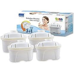 Pack de 8 meses para filtros de agua compatibles con las jarras Brita Maxtra, 4 filtros de agua para 60 días