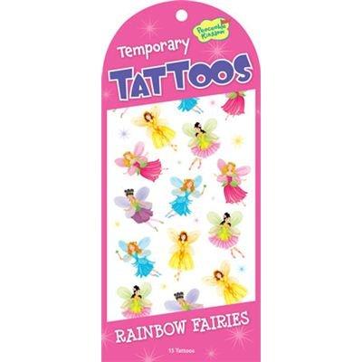 Peaceable Kingdom 4204925 - Peaceable Kingdom - Rainbow Fairies Tattoos