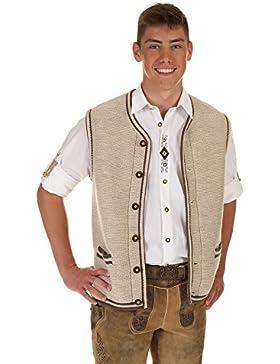 St. Peter Trachten Herren Pullover & Weste & Shirt 22043 BEIGE