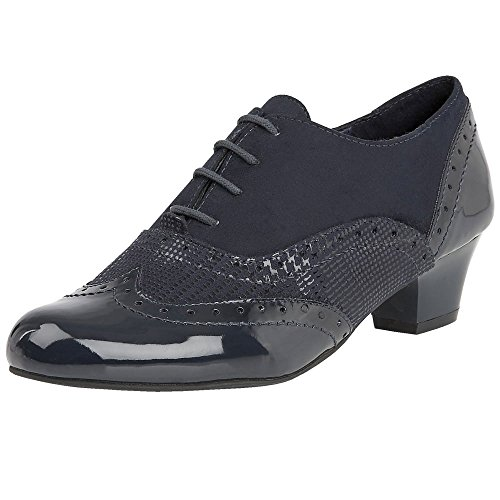 Lotus Treanor Womens High Cut Court Shoes 6 Navy