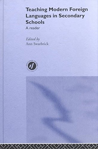 teaching-modern-foreign-languages-in-secondary-schools-a-reader-edited-by-ann-swarbrick-published-on