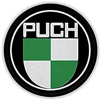 Copytec Parches Puch admitidas Motor Sport Moto Mofa Austria Oldtimer Kult Fan Nadadores Emblema # 20025