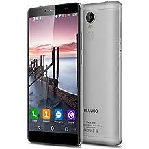 "Bluboo Maya Max - Smartphone Móvil Libre 4G Android 6.0 (6.0"" HD Pantalla, Dual Sim, Octa Core, 32Gb Rom, 3Gb Ram, 13.0+5.0 Mp Cámara, WIFI, GPS, OTA, Gesto Inteligente) (Gris)"