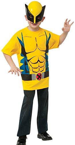 Childs Wolverine Kostüm - Rubie's Marvel Wolverine Kostüm Kit für EIN Kind