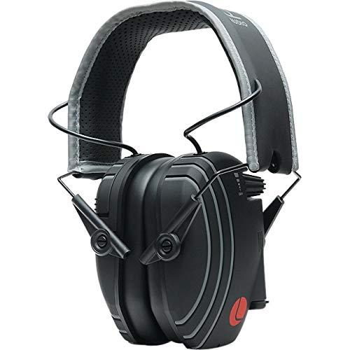 Lucid Audio Amped Sound Verstärkung Kopfhörer hören –, Schwarz/Grau on-The-Ear (Gehörschutz, Kopfhörer, Gehör Enhancement, Hörverstärker, Sound Reduzierung, TV Enhancement, Rauschunterdrückung)