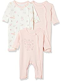 Mothercare Baby Boys' Regular Fit Romper Suit (Pack of 3)