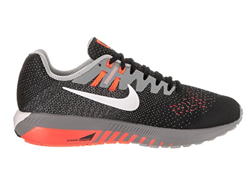 Nike Air Zoom Structure 20, chaussures de course homme Noir/blanc/martinica