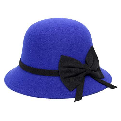 edora Hats für Frauen Winter Woolen Felt Panama Jazz Hat ()