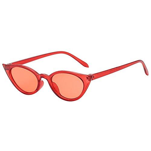 Honestyi Frauen Mann Vintage Cat Eye unregelmäßige Form Sonnenbrille Eyewear Retro Unisex S8032 Sonnenbrillen
