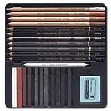 Koh-I-Noor GIOCONDA 8899 - Zeichenset Art Set 24-teiliges Set im Metalletui, Geschenkset