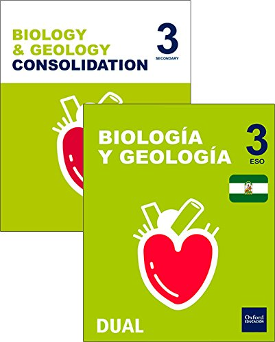 Inicia Dual Biología y Geología 3º ESO Programa Bilingüe Andalucía Pack Alumno