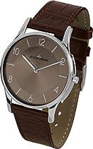 Jacques Lemans Damen-Armbanduhr London Analog Quarz Leder 1-1778W