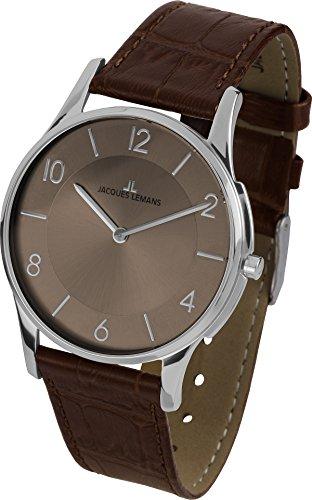 Jacques Lemans London 1-1778W Woman's Watch Analogue Quartz Leather