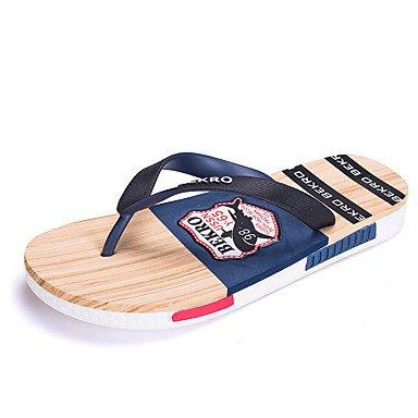 Slippers & amp nuovi uomini;Casual / Beach Fashion Applique / Casa Flip-Flopss Sandali sandali US9.5 / EU42 / UK8.5 / CN43