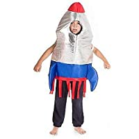 Childrens Astronaut Space Explorer Rocket Tabard Costume 3 - 7 Years