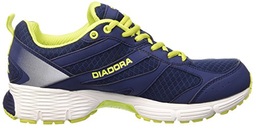 Diadora Action Ii Scarpe Sportive, Unisex Adulto Blu Estate/Bianco Ottico