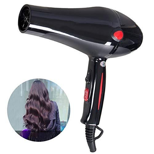 FXXXYSH Haartrockner Professionell Haarfön Ionen 2300W, Lärmarmer Haushalts-Haartrockner, für alle Haartypen 3 Geschwindigkeiten Professional Haartrockner Ionen - Hängende Wand-dateien