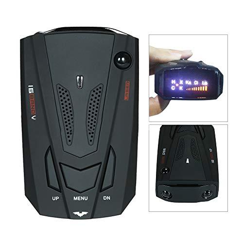 LCLrute Auto 16 Band V7 GPS Geschwindigkeit Polizei sicher Detector Voice Alarm 360 Grad (Polizei-detektor Für Auto)