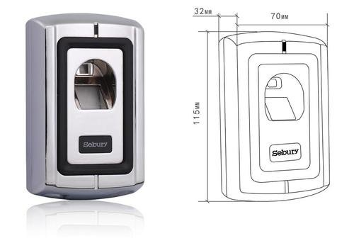 Sebury F007-2 Fingerprint Scanner thumbnail