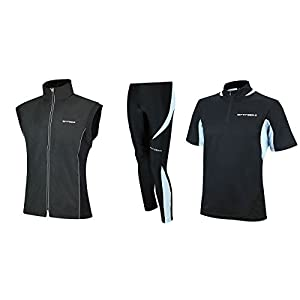 AIRTRACKS FUNKTIONS-LAUFSET – TIGHT-LANG PRO + T-SHIRT KURZARM PRO + LAUFWESTE PRO