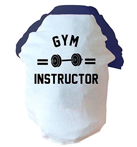 Gym Instructor due Toned Cane Gilet rosa o blu Blue Small