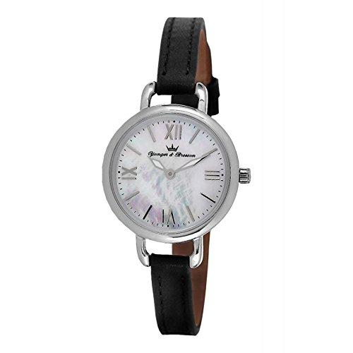Reloj Yonger & Bresson Mujer Nácar blanca–DCC 051/BA–Idea regalo Noel–en Promo