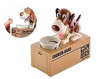 Questo contenitore di soldi di risparmio del cane Piggy Bank è la banca di moneta perfetto per i bambini. Risparmi i soldi e divertirsi allo stesso tempo con l'ultimo, più simpatico banca Doggy con le caratteristiche robotiche. Esso fornisce ...