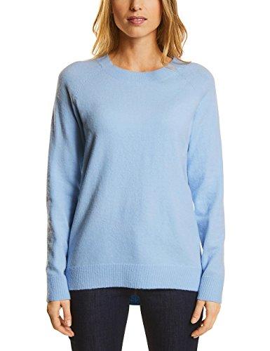 Street One Damen Pullover 300498 Maria, Blau (Morning Blue Knit 11215), 42