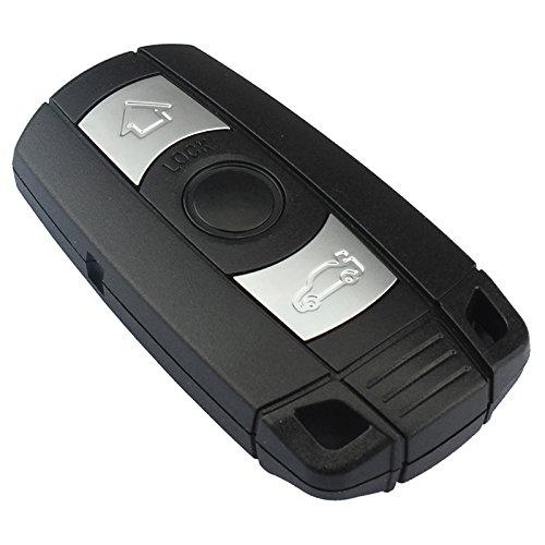Ersatz Schlüsselgehäuse mit 3 Tasten Klappschlüssel Auto Schlüssel Chiavi Schlüssel Rohling HU92 Fernbedienung Funkschlüssel Gehäuse (Version A geschlossenes Gehäuse) -INION