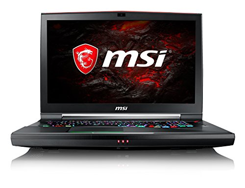 MSI GT75VR-7RF-002IN 17.3-inch Laptop (7th Gen Core i7-7820HK/32GB/512GB SSD+1TB/Windows 10/8GB Graphics), Black image