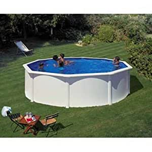 Piscine hors sol dream pool top ronde x gr for Piscine hors sol 6m diametre