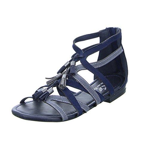 Fritzi aus Preußen Damen Sandalette Sand06 Blau Grau