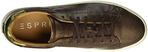 ESPRIT Damen Lizette Lace Up Sneakers Braun (210 Brown)