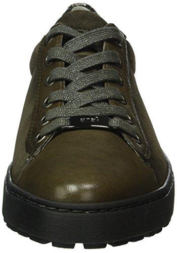 ara Damen Toronto Sneakers Grün (piombo 12)
