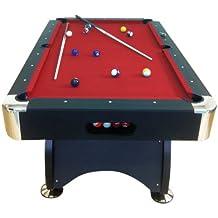 """Tavolo da biliardo-carambola """"Red devil"""" 7 ft ACCESSORI PER CARAMBOLA PANNO rosso- NUOVO billiard table (BIGLIE NUMERATE + TRIANGOLO + 2 STECCHE + GESSETTI GIA"""