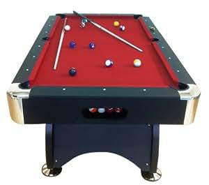 """Tavolo da biliardo-carambola """"Red devil"""" 7 ft ACCESSORI PER CARAMBOLA PANNO rosso- NUOVO billiard table (BIGLIE NUMERATE + TRIANGOLO + 2 STECCHE + GESSETTI GIA INCLUSI)"""
