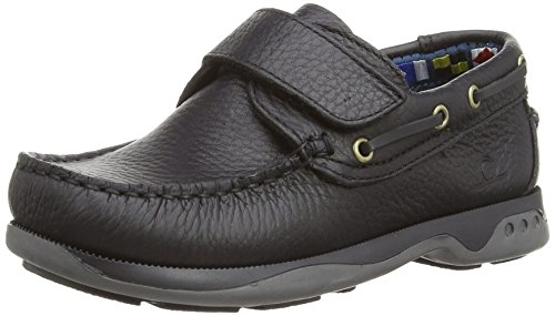 Chatham Unisex Kid's Anchor Boat Shoes - Black, 11 UK Child (29 EU), Regular