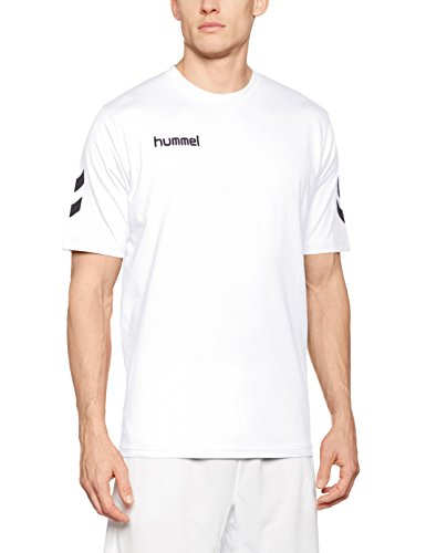 Hummel Herren T-Shirt Core Tee, White, L, 09-541-9001