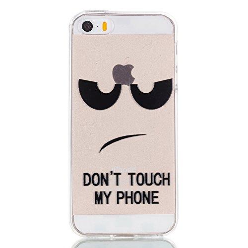 iPhone5/5S/5SE Fall, xinyiyi stoßfest Soft Shell Langlebige iPhone5/5S/5SE kratzfeste TPU Handy Fall Stare