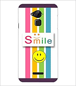 PrintDhaba Quote D-3811 Back Case Cover for COOLPAD NOTE 3 LITE (Multi-Coloured)