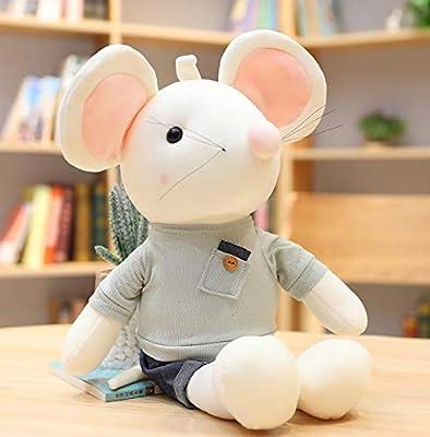 WHKJ Año de la Rata Mascota Pareja Ratón Muñeca Muñeco de Peluche Muñeca Guirnalda Creativa Muñeca Navidad Día de San Valentín Regalo de cumpleaños 32cm de WHKJ