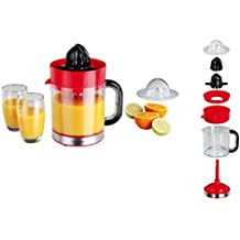 Exprimidor eléctrico con boquilla naranjas de prensa Exprimidor (Licuadora, depósito 1,2