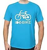 buXsbaum® Sport Performance T-Shirt Ebike | Radsport | L, Azur