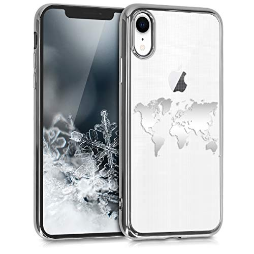 Kwmobile Funda Apple iPhone XR - Carcasa Trasera TPU