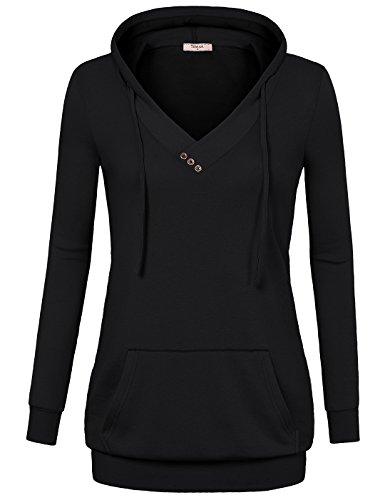 Timeson Damen Kapuzenpullover Gr. xxl, schwarz (Golf Windshirt Nike)