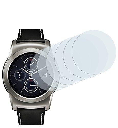 mumbi Schutzfolie kompatibel mit LG Watch Urbane Folie klar, Bildschirmschutzfolie (6x)