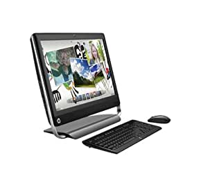 """HP Touchsmart  520-1240ef Ordinateur de Bureau Tout en un Ecran tactile 23"""" (58,4 cm) Intel Core i5-2390T 1 To RAM 4 Go AMD 7450A Windows 7 Noir"""