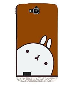 Fuson 3D Printed Cartoon Designer back case cover for Huawei Honor Holly - D4302