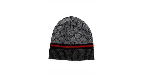 a0a11f25ab72 Gucci bonnet femme en laine gris  Amazon.fr  Vêtements et accessoires