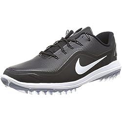 Nike Lunar Control Vapor 2, Zapatos de Golf para Hombre, Negro (Black/White-Cool Grey 002), 42 EU